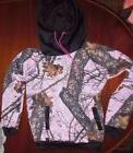 NWOT Yukon Gear Pink Camoflauge Hooded Sweatshirt Pink Ladie