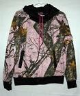 NWOT! Womens Yukon Gear Mossy Oak Pink Camouflage Hoodie Swe
