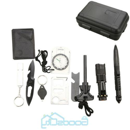 Outdoor Kit Camping Tactical Tools 10 EDC
