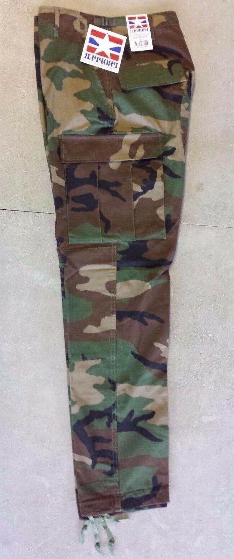Pants BDU Combat Trousers Woodland Camo Propper F5250 genuin