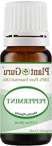 Peppermint Essential Oil 10 ml. 100% Pure Undiluted Therapeu