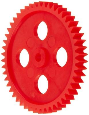 Ajax Scientific Plastic Gear with 50 Teeth Pack of 10