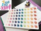 PP189 -- Small Book Icons Life Planner Stickers for Erin Con