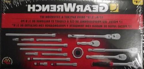 ratchet extension drive tools set
