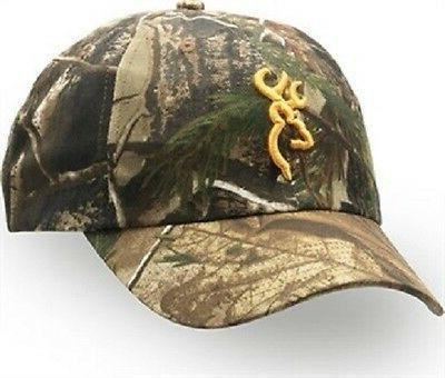 rimfire camouflage cap with 3 d buckmark