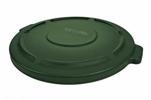 rubbermaid commercial products fg260900dgrn brute heavy duty