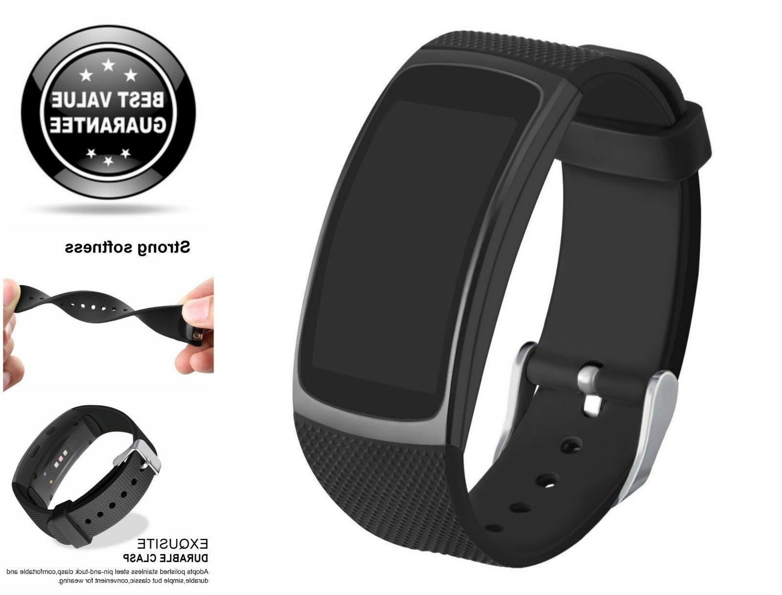 Samsung Gear Fit 2 & 2 Pro Tracker Replacement Band Sport St