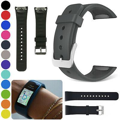 For Samsung Gear Fit 2 SM-R360 Silicone Replacement Wrist Ba