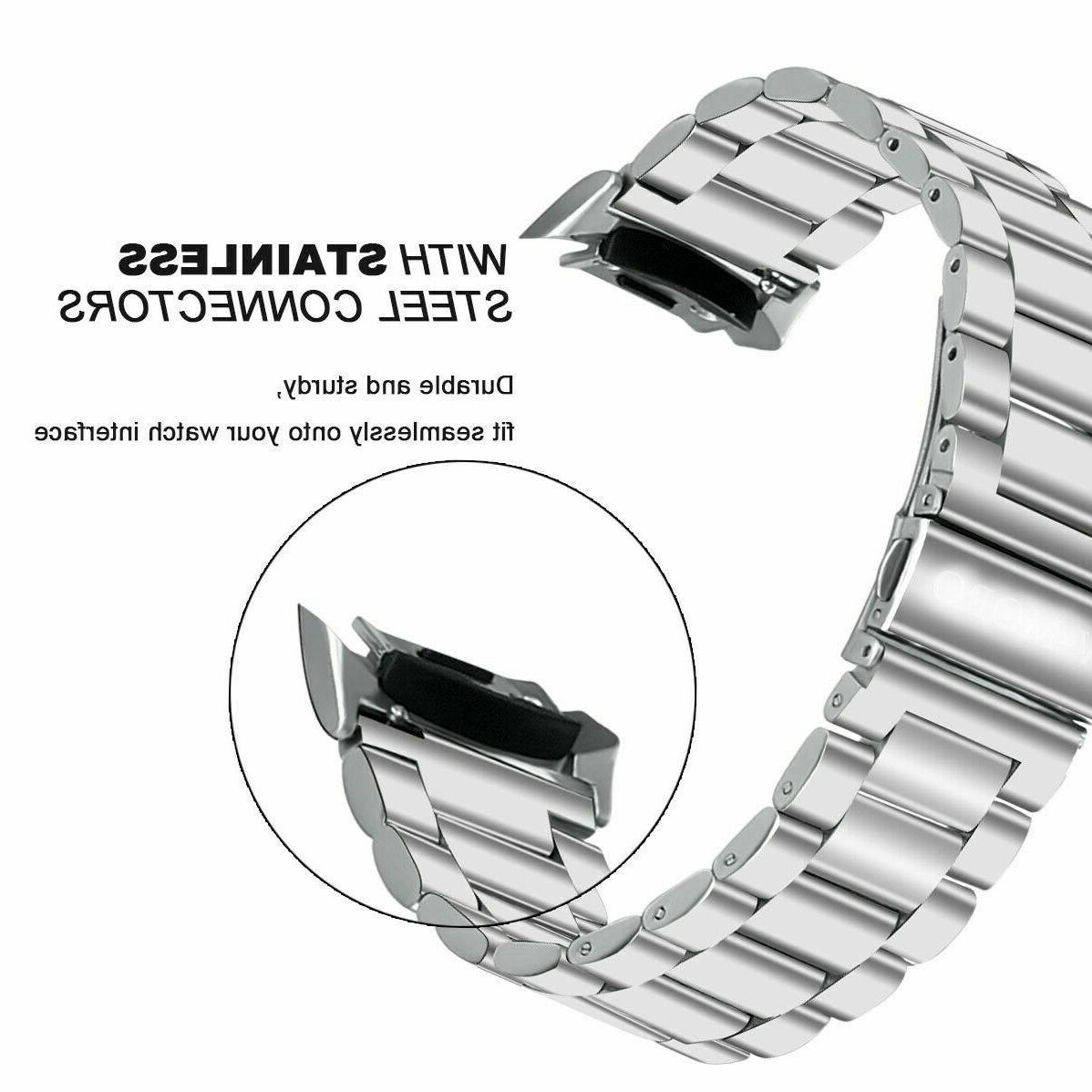 For Samsung SM-R720 SM-R730 WristWatch Bands Stainless