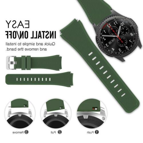 For Classic / Frontier Smart Watch Band Wrist Silicone