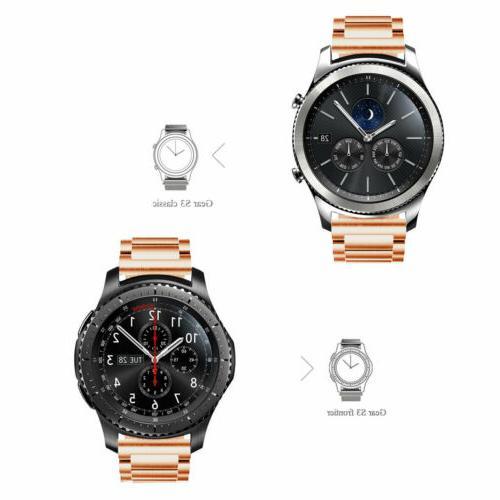For Samsung Gear Classic Steel Strap Watch Case