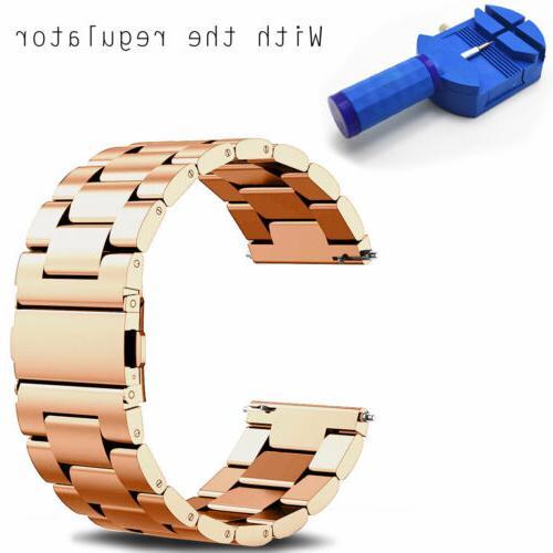 For Samsung Gear S3 Classic / Frontier Steel Bracelet Case
