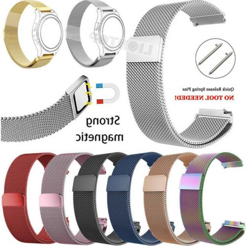 For Samsung Gear Frontier/Classic Replacement Strap 22mm