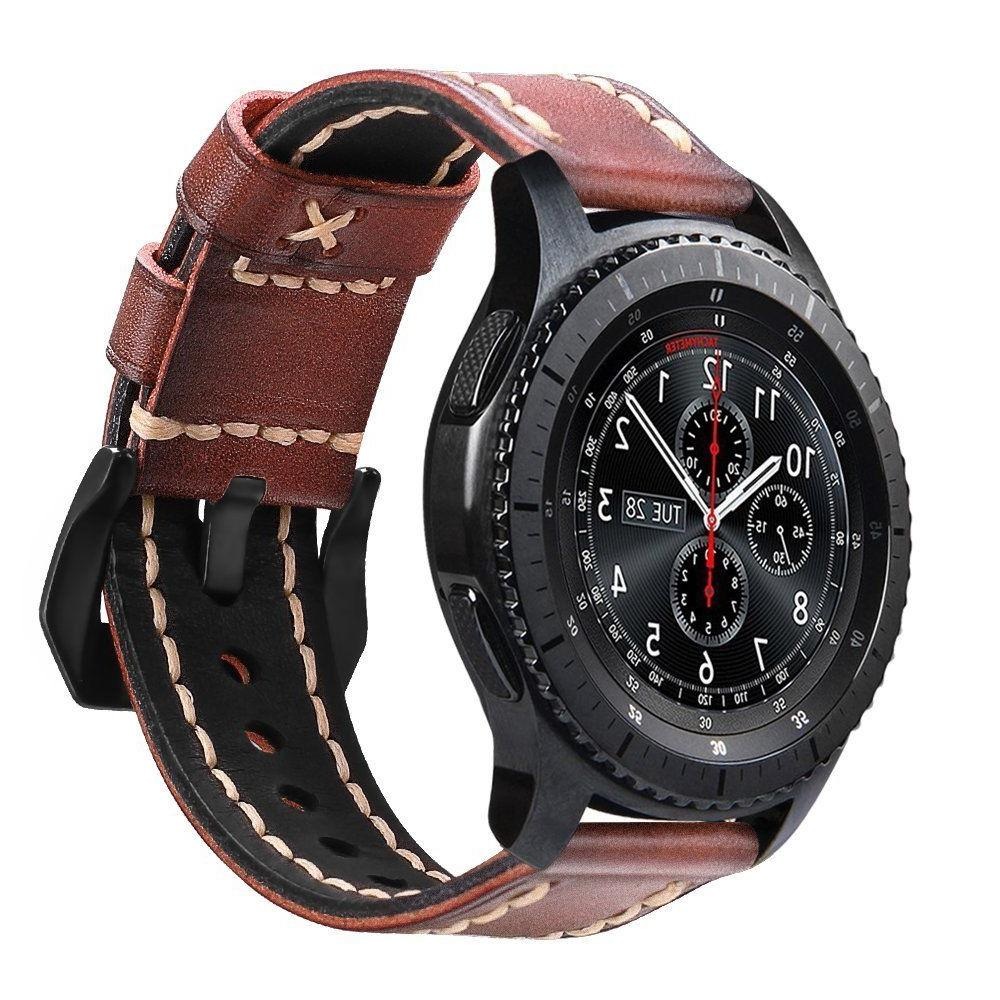For Samsung Gear S3 Frontier / Classic Smartwatch Genuine Le