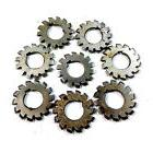 Set 8Pcs Module 1 M1 Inner bore 22mm #1-8 Involute Gear Cutt