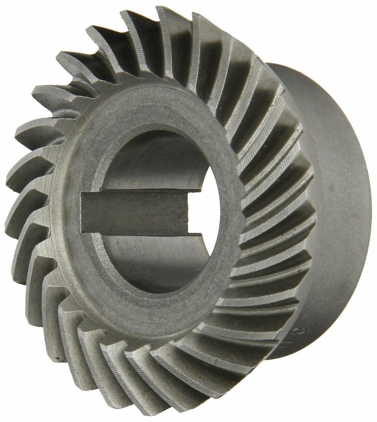 "Boston Gear SH142-G Spiral Bevel Gear, 2:1 Ratio, 0.750"" Bor"