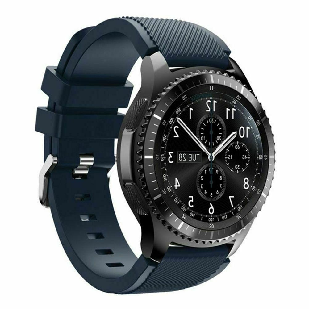 Silicone Bracelet Watch For Samsung Gear Frontier Classic
