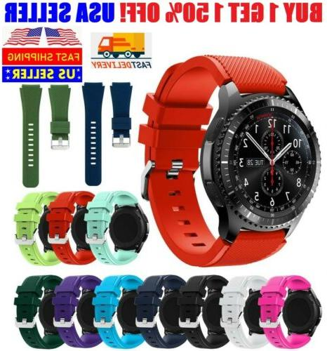 silicone bracelet watch replacement for samsung gear