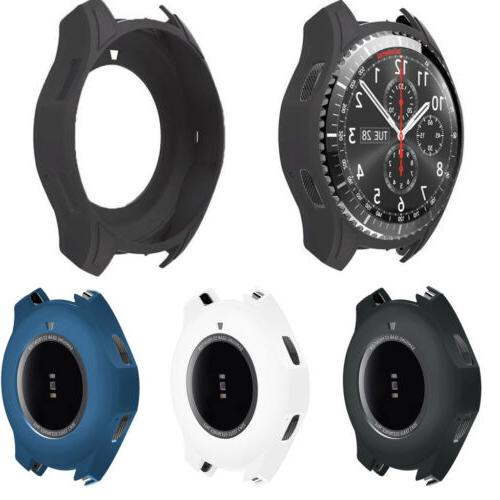 TPU Silicone Watch Case Protector Cover For Samsung Gear S3