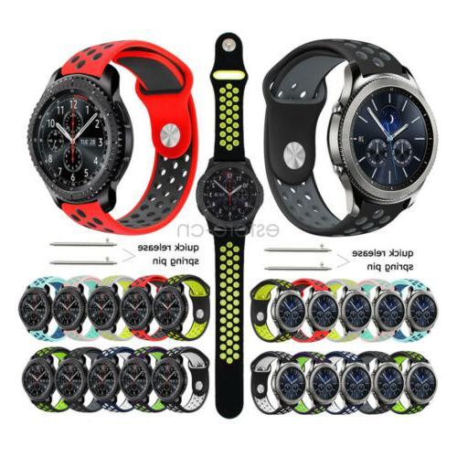 silicone sport wrist band watch strap