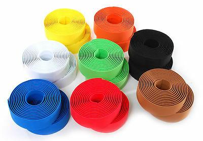 Solid Color Foam Bike Handlebar Bar Tape Road / Fixed Gear