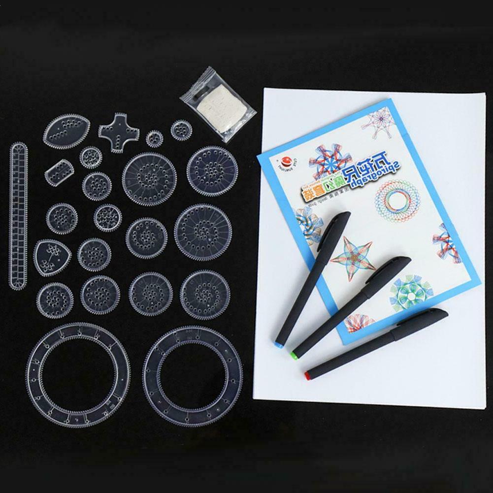 Spirograph Deluxe Tin Set Draw Designs Toys