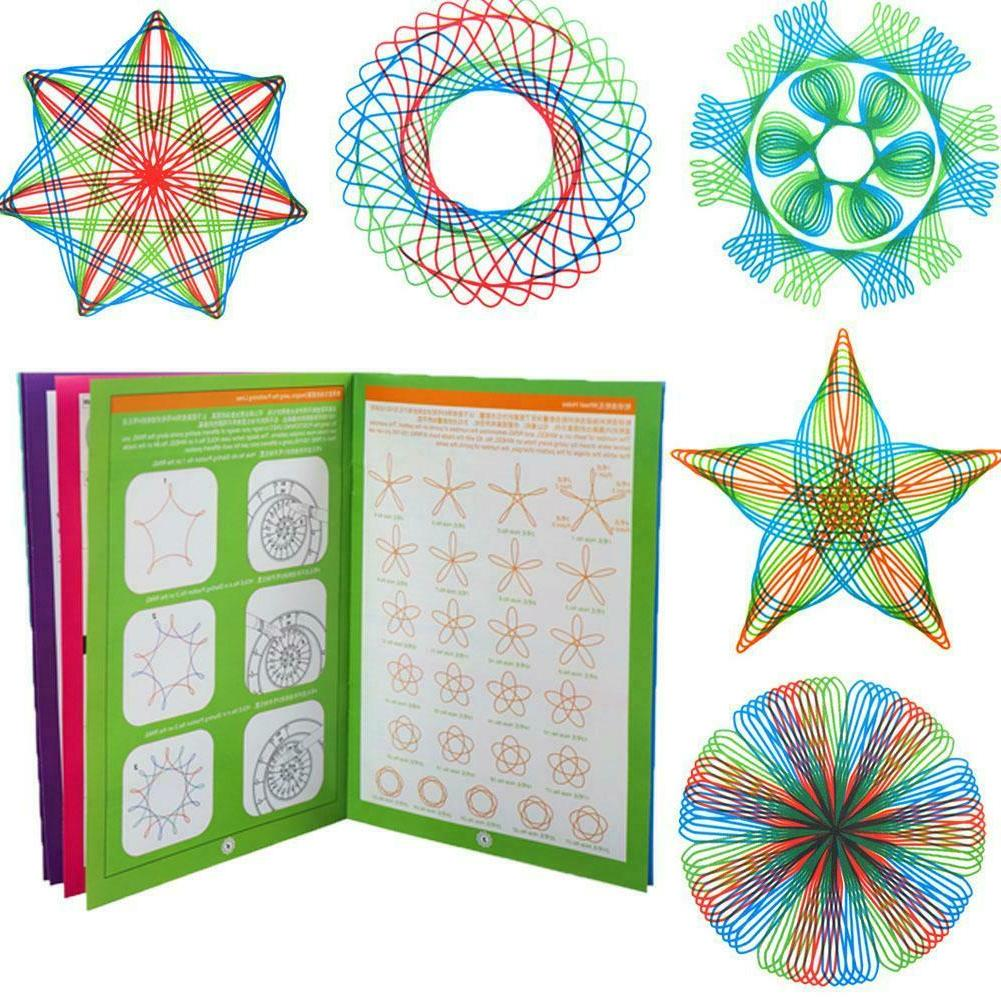 Spirograph Deluxe Draw Designs Toys Gears DF