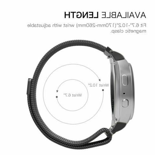 Stainless Band Samsung Watch Active Gear S3 Sport Strap
