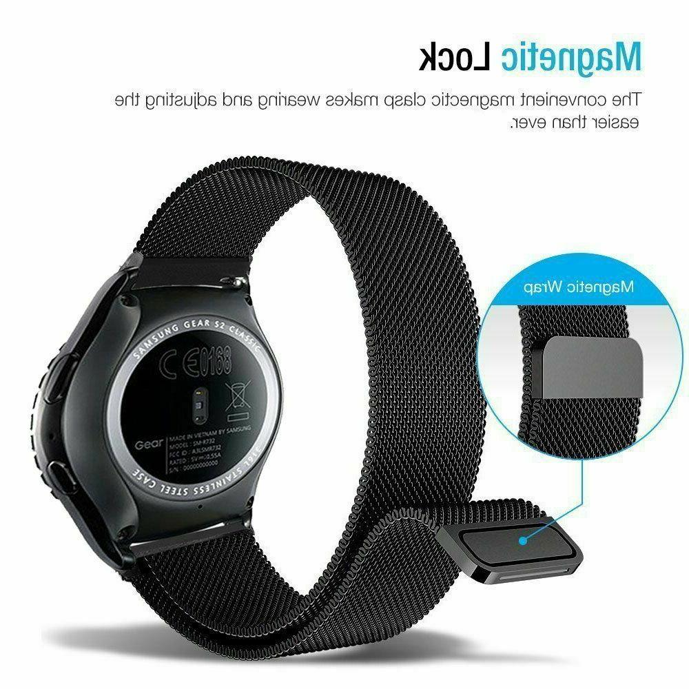 Stainless Samsung Watch 42/46mm Active Strap