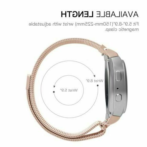 Stainless Band For Samsung Galaxy 42/46mm Active S3 Strap