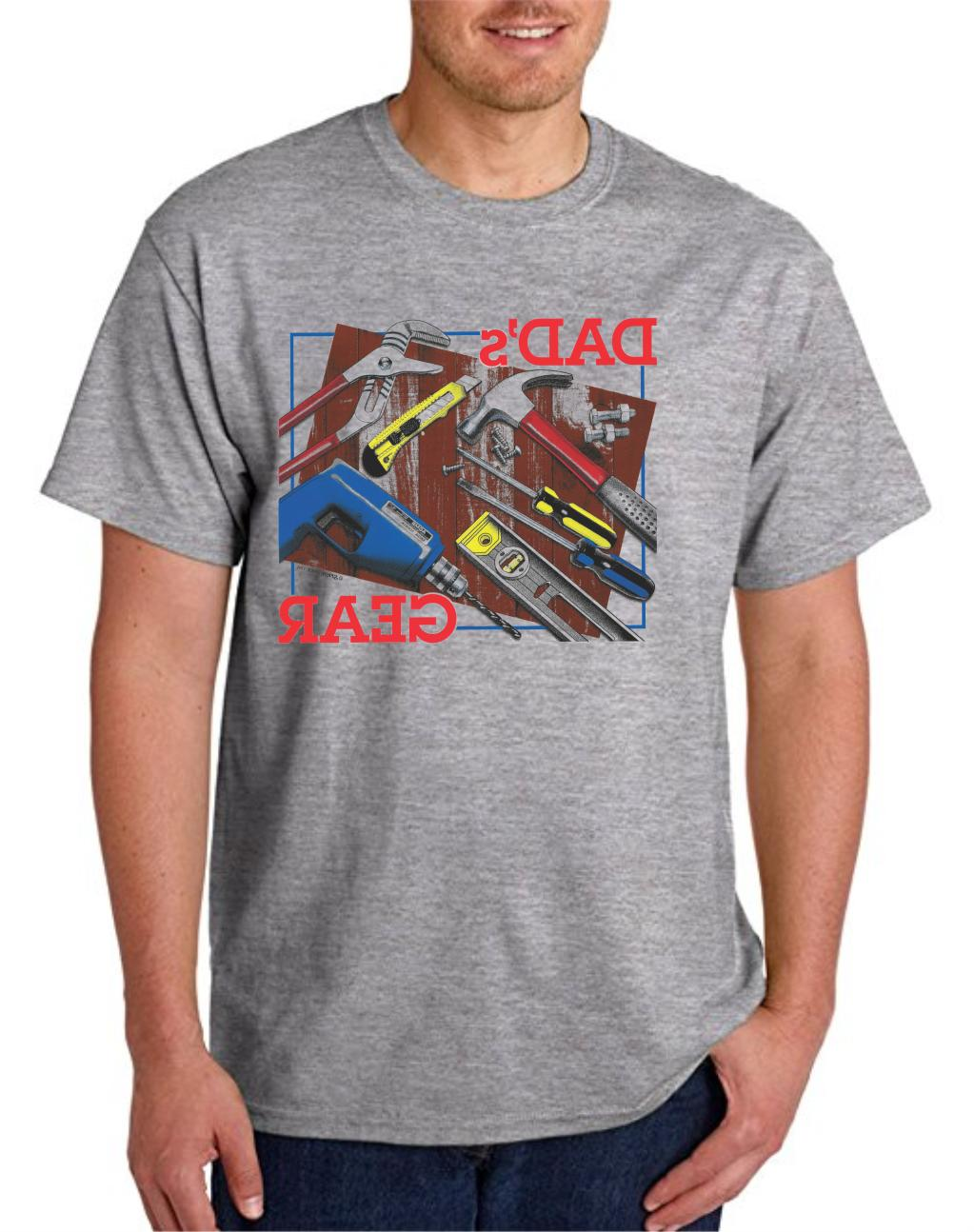 Gildan T-shirt Dad Dad's Gear Repair