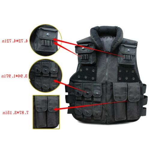 Tactical Military Carrier Police Combat Assault Gear