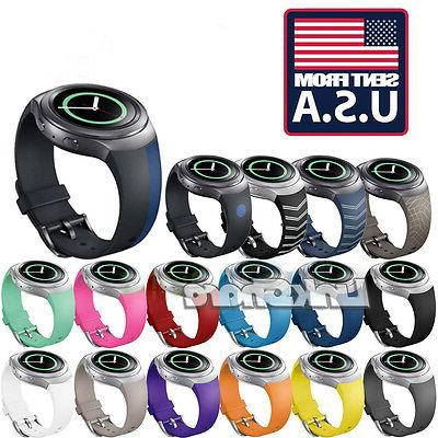 tx silicone watchband band for samsung gear