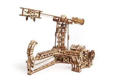 ugears aviator wooden model