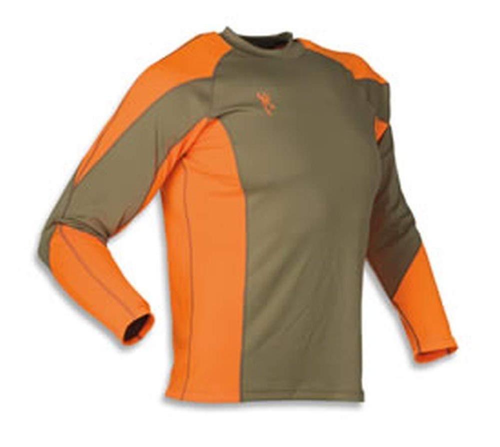 upland nts long sleeve shirt brown blaze