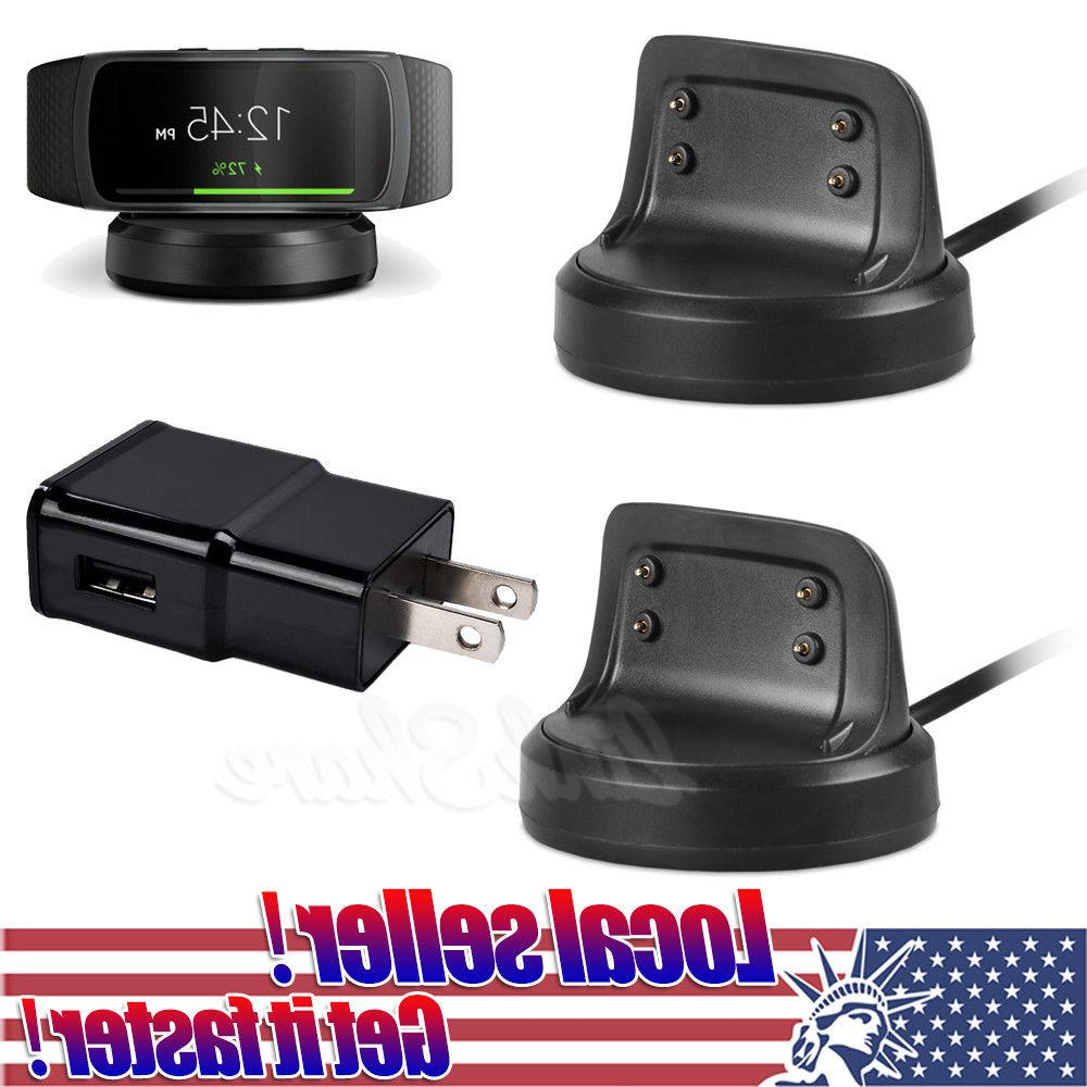 US USB Cable Charger Dock Station For Samsung Gear Fit 2 R36