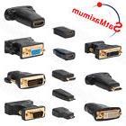 Video Adapter HDMI to DVI / VGA to DVI / Mini-HDMI to HDMI /