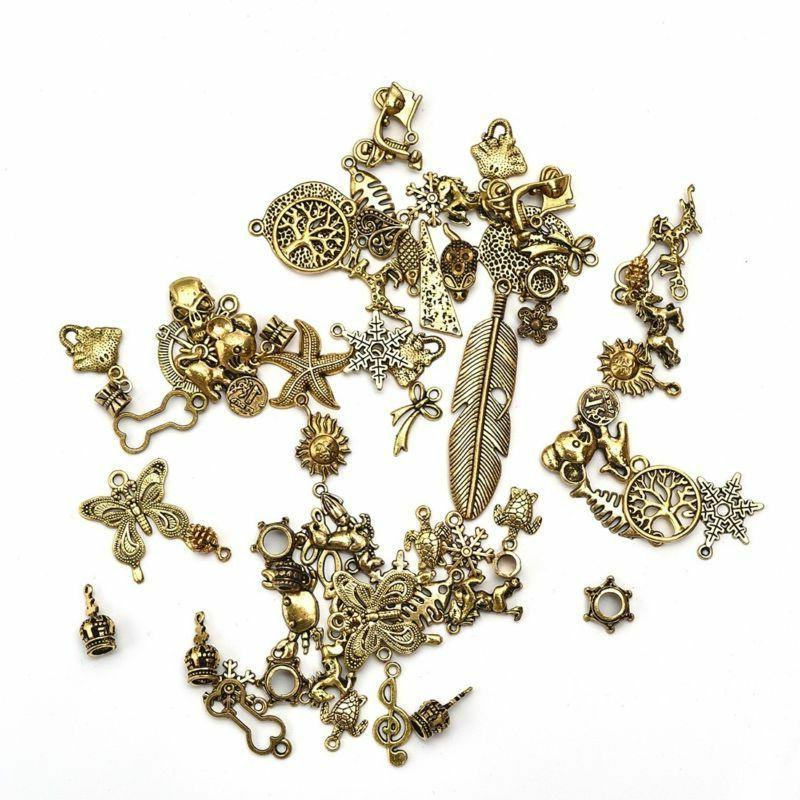 Vintage Random Jewelry Pendants DIY