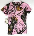 Yukon Gear Womens Moss Oak Print Burnout T-Shirt Size Medium