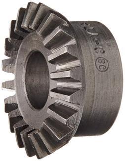 "Boston Gear L147Y-G Bevel Gear, 2:1 Ratio, 0.375"" Bore, 20 P"