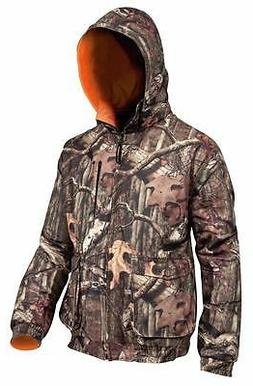 Yukon Gear Large Reversible Jacket Mossy Oak Camo Waterproof