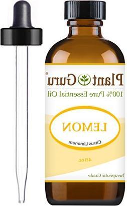 Lemon Essential Oil 4 oz. 100% Pure Undiluted Therapeutic Gr