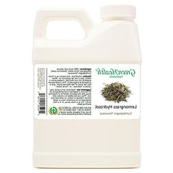 Lemongrass Hydrosol - 16 fl oz Plastic Jug w/Cap - 100% pure