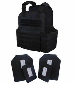 Tactical Scorpion Gear 4 Pc Level III AR500 Body Armor Plate