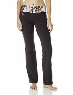 Yukon Gear Women's Lounge Pant, Brown with Mossy Oak Infinit