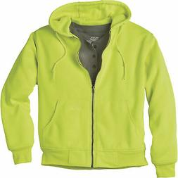 Gravel Gear Men's Hooded Thermal-Lined Sweatshirt - Lime, Me