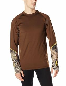 Yukon Gear Mens Scent Control Mid Weight Base Layer Top Hunt