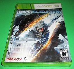 Metal Gear Rising Xbox 360 *Factory Sealed! *Free Shipping!