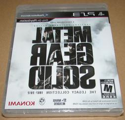 Metal Gear Solid: Legacy Collection  Brand New / Fast Shippi