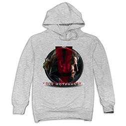 XJBD Men's Metal Gear Solid V The Phantom Pain Funny Sweater